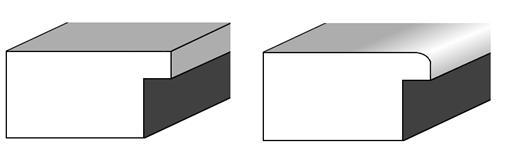 Türblattkanten