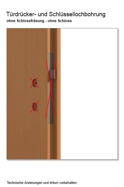 Türbreite standard  Tür Stiba Plus 4FS - Türen und Beschlag Paul 24 GmbH