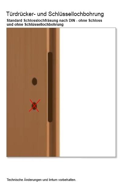 Türblattmaße din  Tür weiß massiv Britt - Türen und Beschlag Paul 24 GmbH