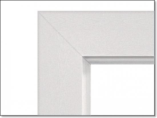 Wohnungseingangstür weiß  Holzzargen für Wohnungseingangstüren gefälzt von Jeldwen Moralt ...