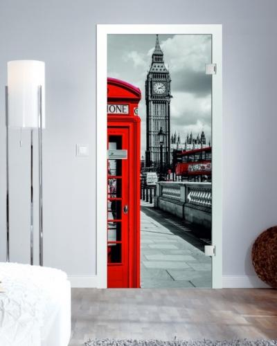 ganzglast ren mit fusion digitaldruck motiv britain g nstig im shop von beschlag t ren. Black Bedroom Furniture Sets. Home Design Ideas