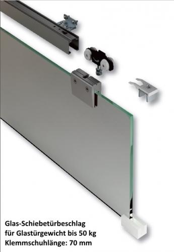 glas schiebet rbeschl ge in aluminium hier online kaufen im shop von beschlag t ren. Black Bedroom Furniture Sets. Home Design Ideas
