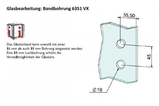 3 Teilige Glastürbänder Für Stumpfe Zargen Von Beschlag Paul.de Kaufen    Türen Und Beschlag Paul 24 GmbH
