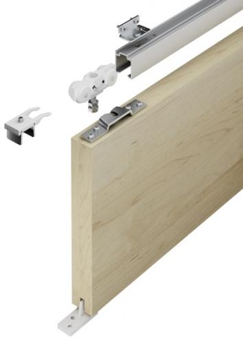 Holz-Schiebetürbeschläge in Aluminium günstig online kaufen im Shop ...