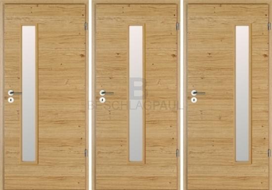 Innentüren eiche furniert  Lichtausschnitt-Türen von Jeldwen Moralt Wirus Echtholz furniert ...
