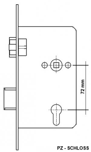 einsteckschloss sf serie 20 ape fh anti panik funktion e din 18250 hier bestellen beschlag. Black Bedroom Furniture Sets. Home Design Ideas