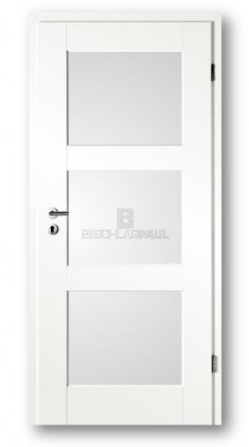 Gut bekannt Tür Altera weiß mit Lichtausschnitt 8903 - Türen und Beschlag Paul AX68