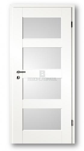 Sehr Tür Altera weiß 8904 mit Lichtausschnitt - Türen und Beschlag Paul MW18