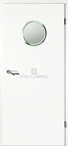 Fabulous WeißeTür mit Lichtausschnitt Bullauge - Türen und Beschlag Paul 24 IG79