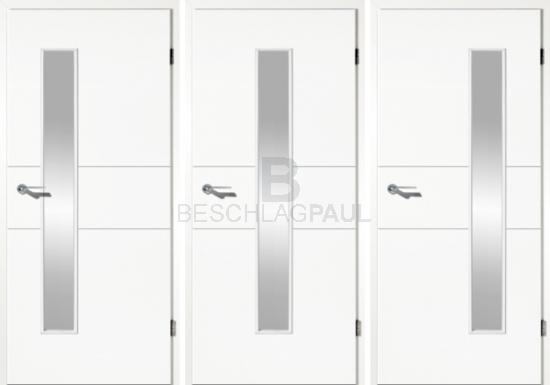 Innentüren mit lichtausschnitt  Tür mit Lichtausschnitt 62 und Lisenen - Türen und Beschlag Paul ...