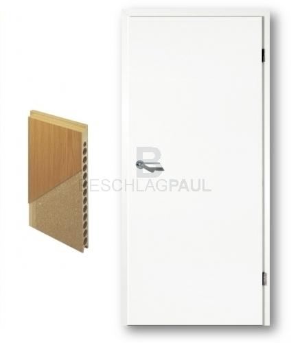 Türblatt weiß  Weißlack Tür mit RSP - Türen und Beschlag Paul 24 GmbH