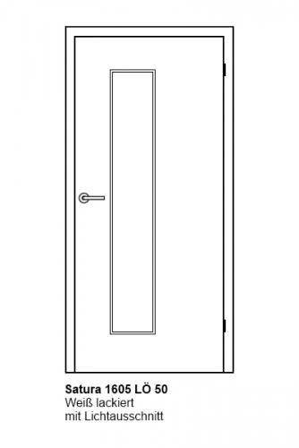 t r satura wei 1605 mit glas l 50 t ren und beschlag paul 24 gmbh. Black Bedroom Furniture Sets. Home Design Ideas