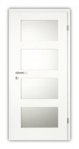 Gut gemocht Tür weiß Scalea 2504 mit Glas 4G - Türen und Beschlag Paul 24 GmbH XL26
