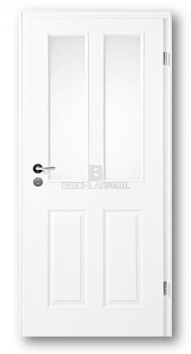 Hervorragend Tür weiß Stiba Plus 4F mit Glas 2G - Türen und Beschlag Paul 24 GmbH BO24