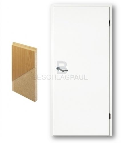 Türblatt weiß  Weißlack Tür Vollspan - Türen und Beschlag Paul 24 GmbH