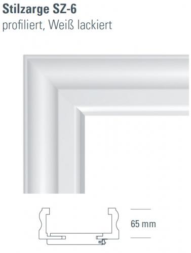 zarge wei aus holz sz 6 t ren und beschlag paul 24 gmbh. Black Bedroom Furniture Sets. Home Design Ideas