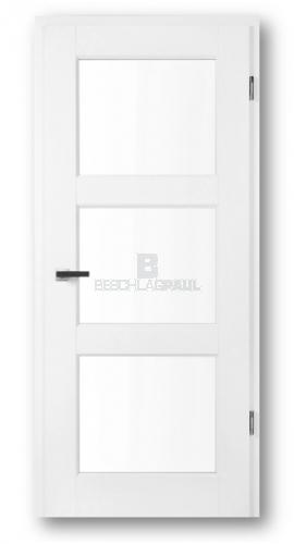Super Tür weiß Opus 3F mit Glas - Türen und Beschlag Paul 24 GmbH JE58