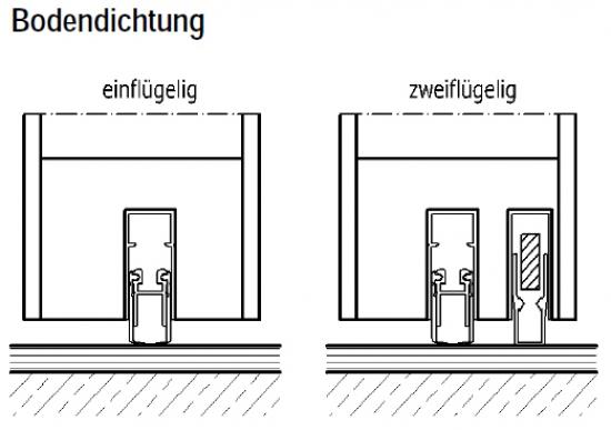 Wohnungseingangstür weiß  Wohnungseingangstür Typ 70 Schallschutzklasse 3 Weißlack von ...