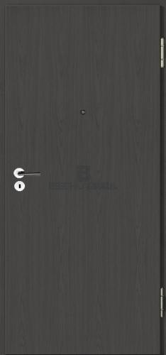 wohnungseingangst ren von jeldwen moralt wirus echtholz furniert esche strukturfarbig ebony. Black Bedroom Furniture Sets. Home Design Ideas