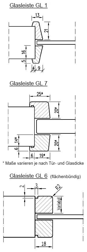 Sehr Weißlack Tür mit Lichtausschnitt LÖ 23 - Türen und Beschlag Paul TD62