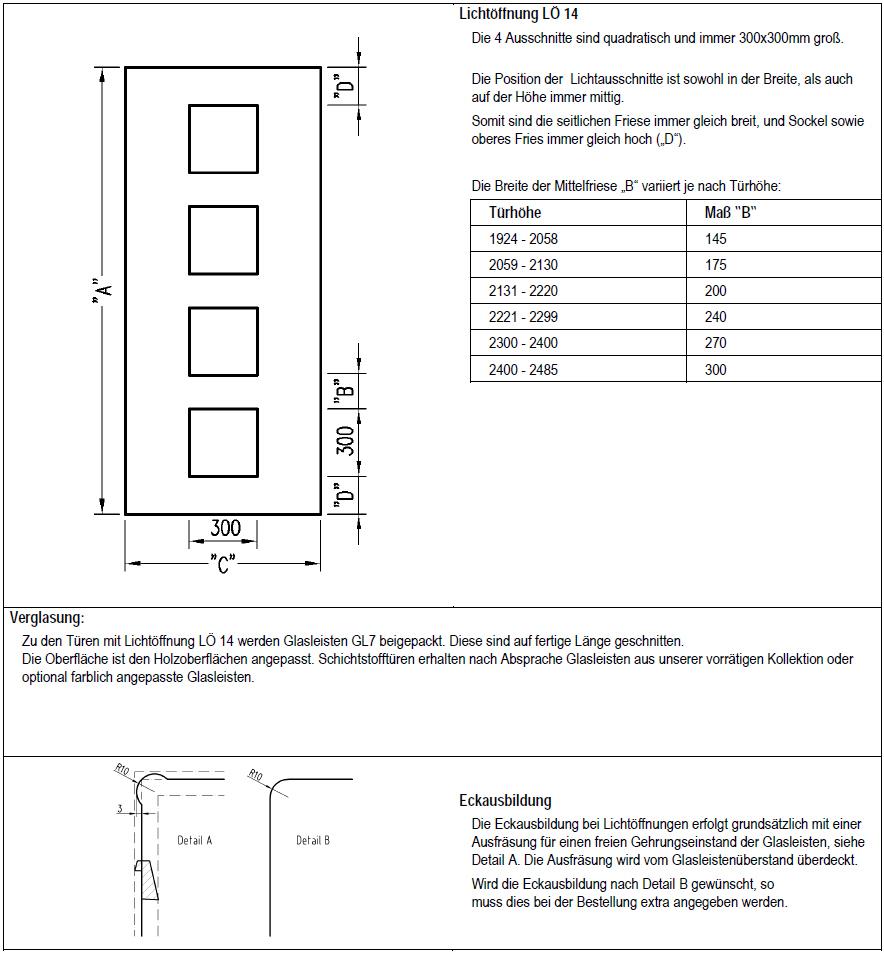 Türblattmaße din  Lichtöffnungstüren von Jeldwen Moralt Wirus Farblack lt. Jeld-Wen ...